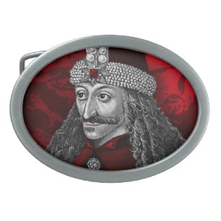Vlad Dracula Gothic Oval Belt Buckle