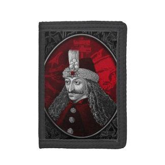 Vlad Dracula Gothic Tri-fold Wallet