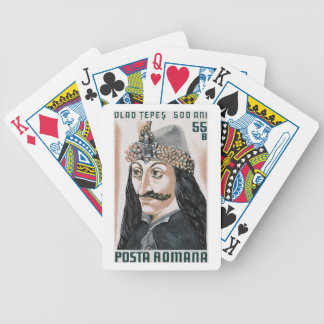 Vlad the Impaler Bicycle Playing Cards