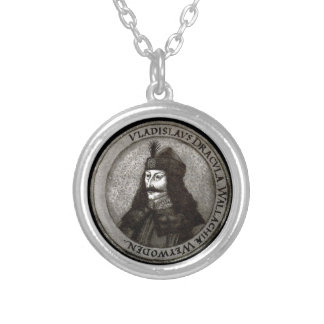 Vlad the Impaler [Count Dracula] Silver Plated Necklace