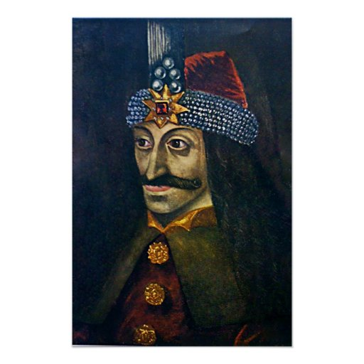 Vlad the Impaler Poster Print