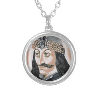 Vlad the Impaler Silver Plated Necklace