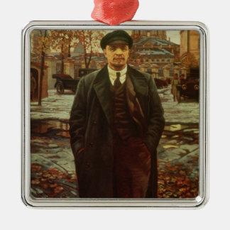 Vladimir Ilyich Lenin  at Smolny, c.1925 Metal Ornament