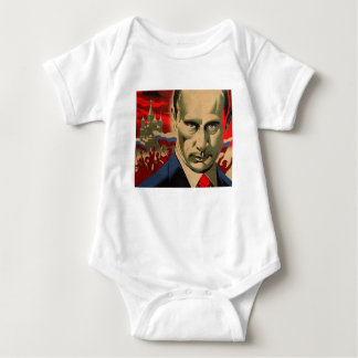 Vladimir Putin (Влади́мир Пу́тин) Baby Bodysuit