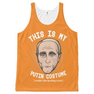 Vladimir Putin Halloween Costume - I couldn't find All-Over Print Singlet