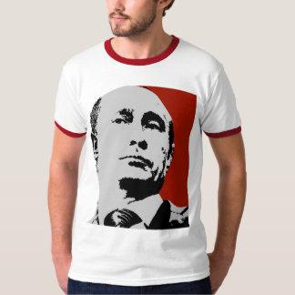 Vladimir Putin on Red T-Shirt