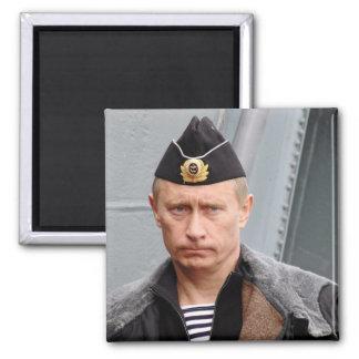 Vladimir Putin Square Magnet