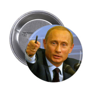 Vladimir Putin wants to give that man a cookie! 6 Cm Round Badge