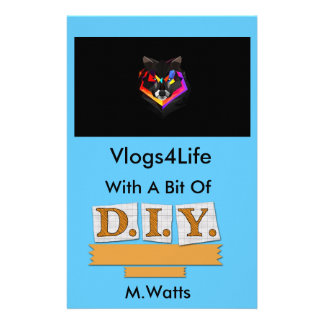Vlogs4Life NoteBook Personalised Stationery