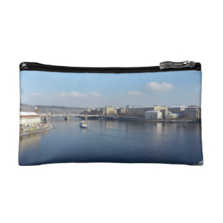 Vltava River and Újezdv, Prague Cosmetic Bag