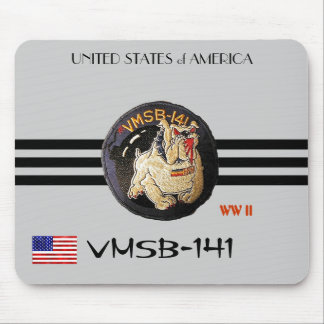 VMSB-141-WW II MOUSEPAD