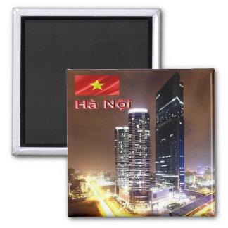 VN - Vietnam - Hanoi -  Landmark Tower  By Night Magnet