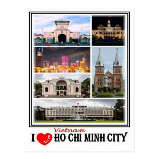 VN Vietnam - Ho Chi Minh City - Postcard