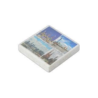 VN Vietnam - Ho Chi Minh City - Saigon - Stone Magnet
