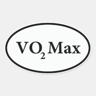 vo2 max oval sticker