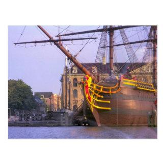 VOC Amsterdam, a ship of the VOC, Postcard