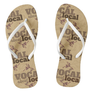 Vocal About Local Brown Flipflops