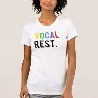 Vocal Rest - Colorful Caps T-Shirt
