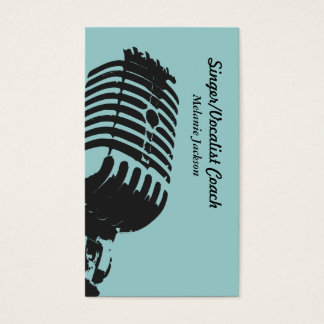 Vocalist Business Card