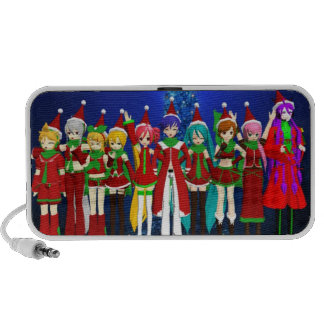 Vocaloid Christmas Speakers