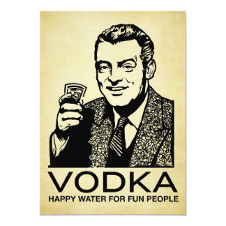 Vodka Invitation