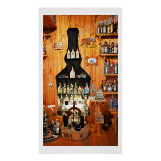 Vodka museum in Russia Poster