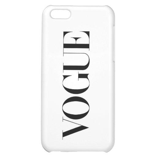 Vogue iPhone 5 Matte Finish Case iPhone 5C Cover
