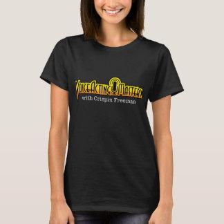 Voice Acting Mastery Logo T-Shirt - Women's Black