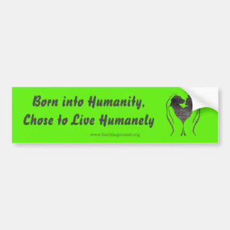 Voice Your Compassion! Bumper Sticker