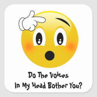 Voices In My Head Bother Emoji Stickers