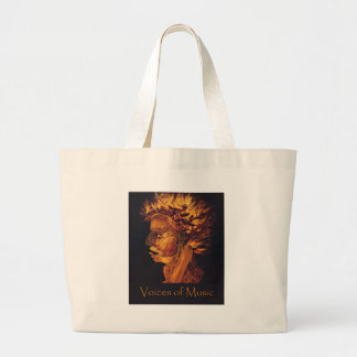 Voices of Music Fire Tote