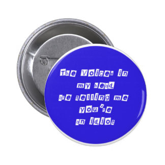 Voices Pinback Buttons