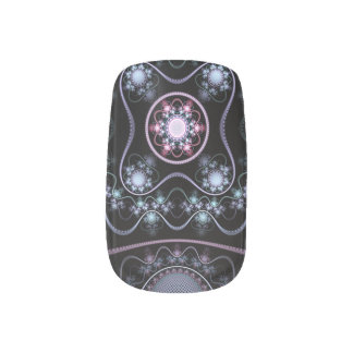 """Void"" custom fractal artwork Minx Nail Art"