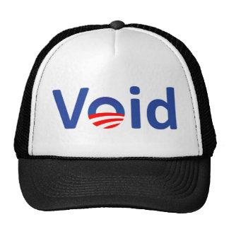 void trucker hat