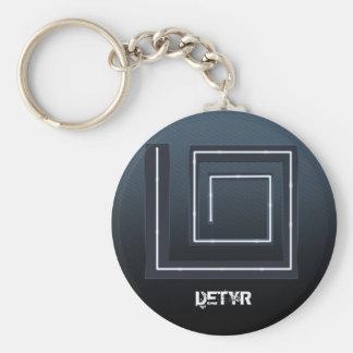 Void Basic Round Button Key Ring