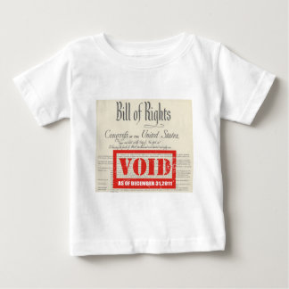 VOIDED BILL OF RIGHTS BABY T-Shirt