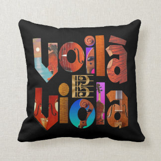 Voilà Viola! Cushion