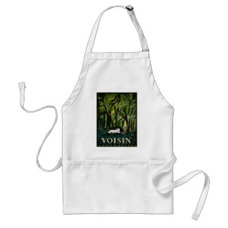 Voison Automobiles - Vintage Early 1900s Adult Apron