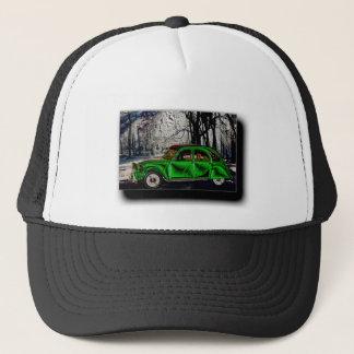 VOITURE DANS LA FORÊT - Artwork Jean Louis Glineur Trucker Hat