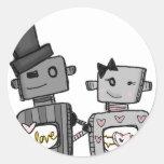 vol25- love happens round sticker