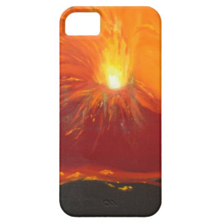 Volcanic eruption iPhone 5 cover