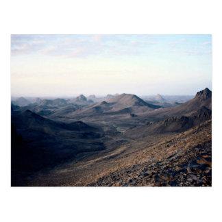 Volcanic plugs, Assekrem Route, Algeria Postcard