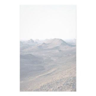 Volcanic plugs, Assekrem Route, Algeria Stationery Paper