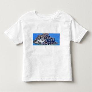 Volcanic rock in the sea in Santorin Greece Toddler T-Shirt