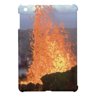volcano blast of lava iPad mini cover