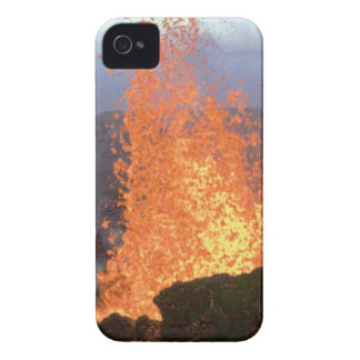 volcano blast of lava iPhone 4 case