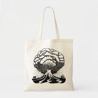 Volcano Budget Tote Bag