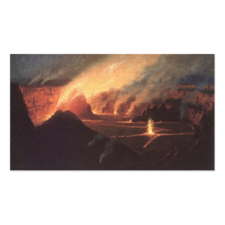 Volcano, ca. 1880s Hawaii Double-Sided Standard Business Cards (Pack Of 100)