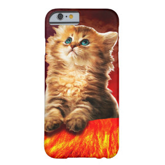 volcano cat ,vulcan cat , barely there iPhone 6 case
