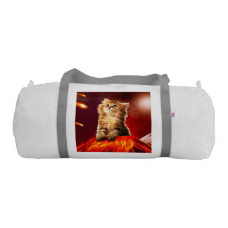 volcano cat ,vulcan cat , gym bag